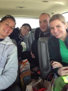 Jill, Alexa, Greg and Amanda.